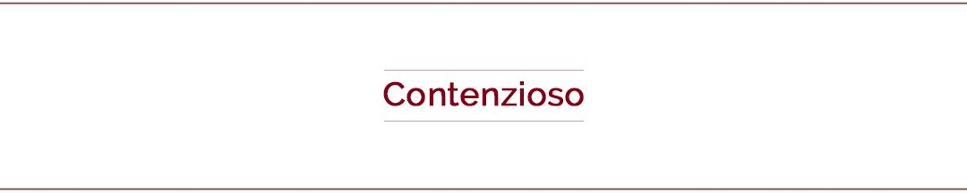 Contenzioso
